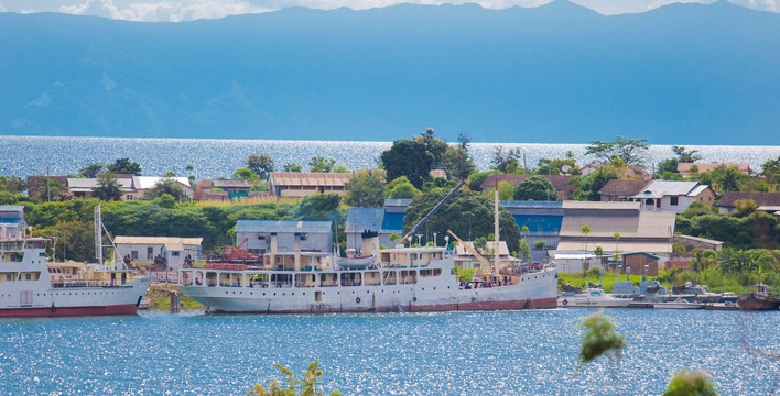 M.V. Liemba was built in 1913 for the Imperial German Navy but remains today as the oldest passenger ferry still operating through the waters of Lake Tanganyika